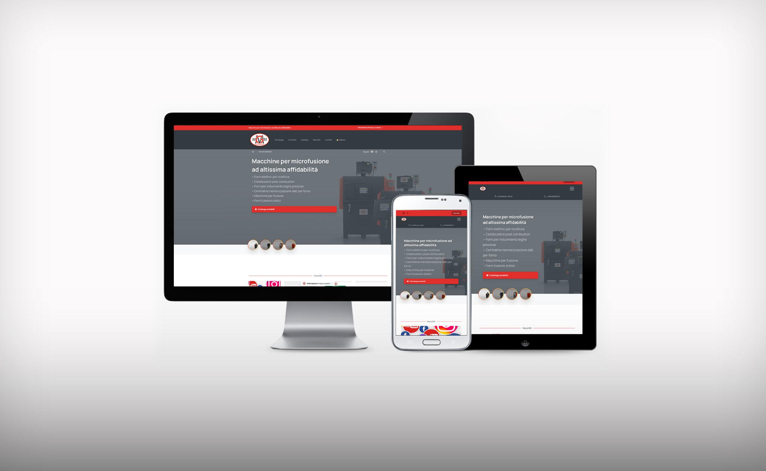 MGMicrofusion presenta il nuovo sito